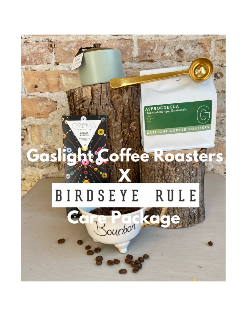 Birdseye Rule Gaslight Coffee Roasters Care Package