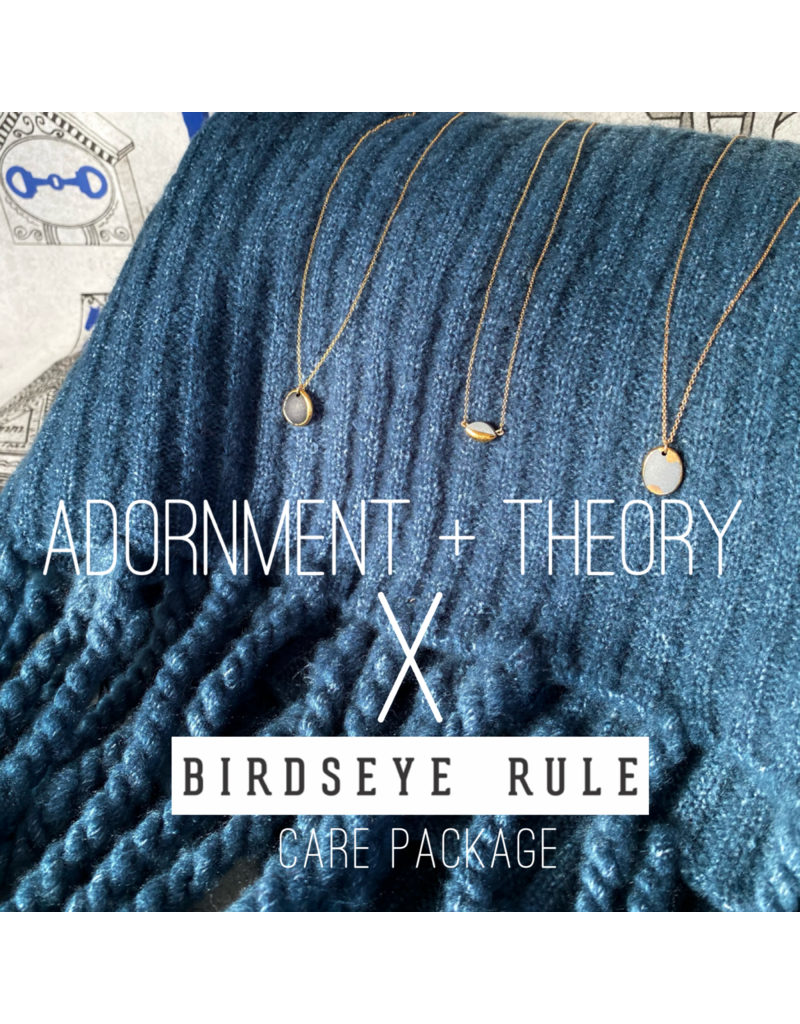 Birdseye Rule Adornment + Theory Care package