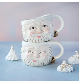 One Hundred 80 Degrees Cream Papa Noel Mug