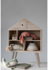 Creative Co-Op Wood Doll House With Legs