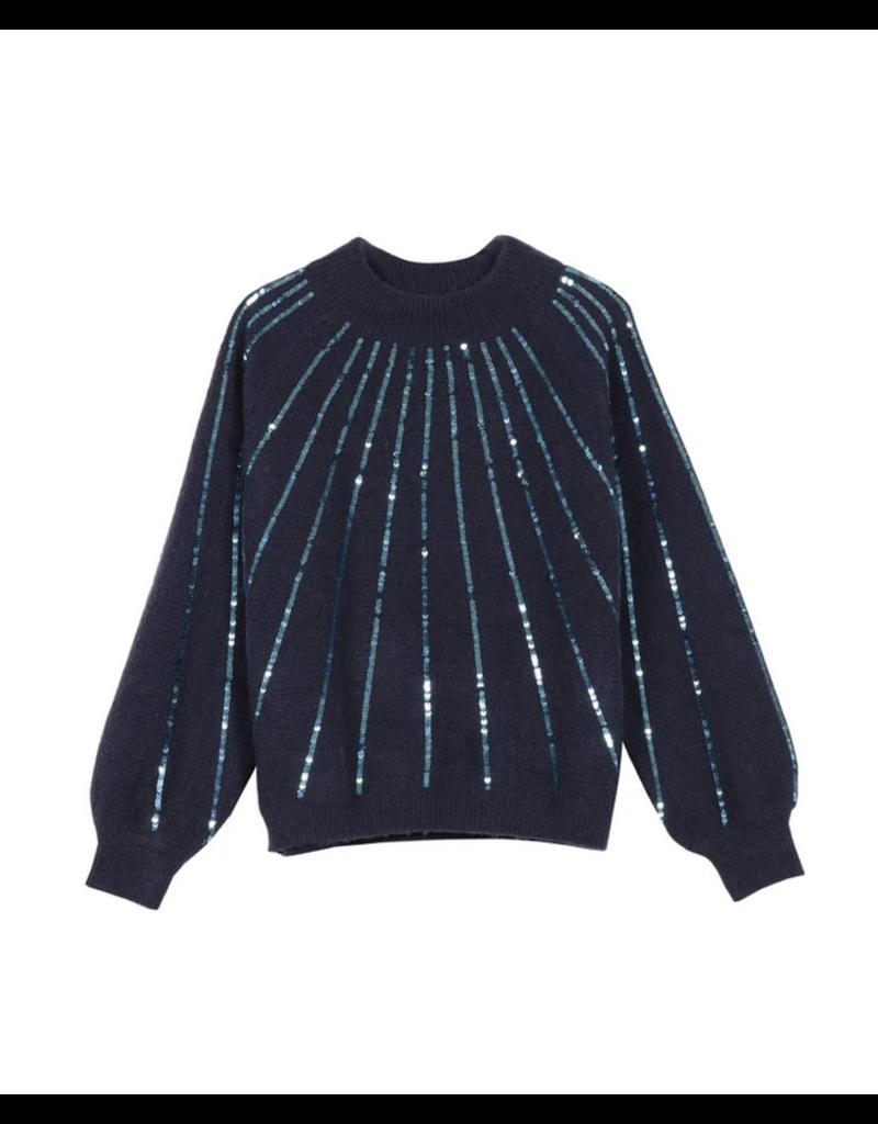 FRNCH Noor Sequin Sweater