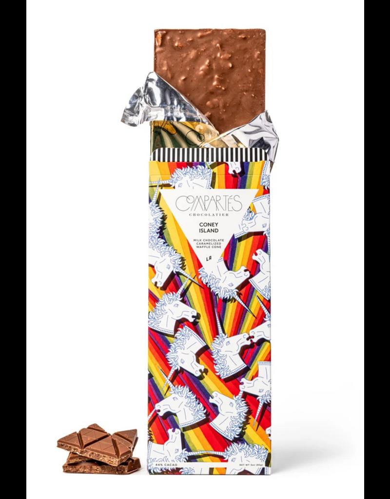 Compartes Chocolate Coney Island Milk Chocolate