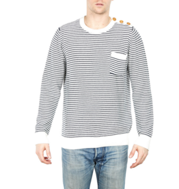 Barque Vienna Striped Crew Sweater