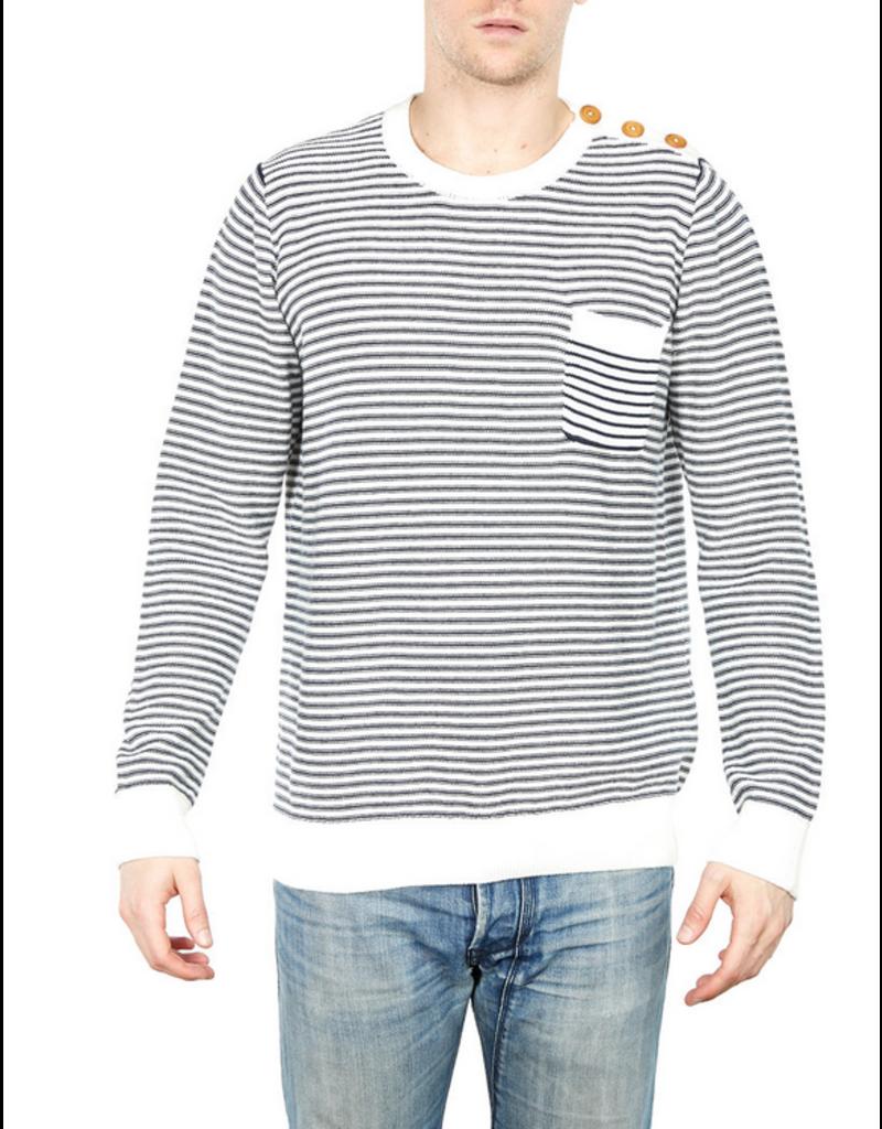 Barque Vienna Striped Crew Sweater