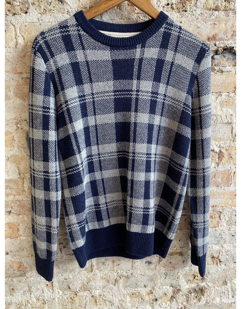 Barque Vivaldi Plaid Sweater