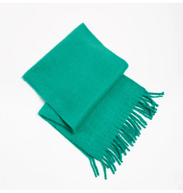 Look By M Soft Solid Green Scarf