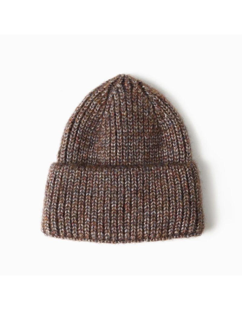 Look By M Amber Sparkle Wide Cuff Beanie