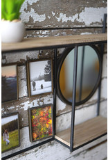 Kalalou Mirror with Picture Frames