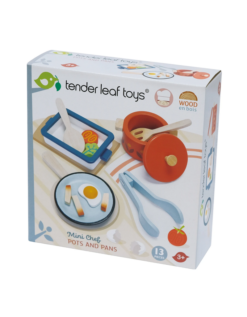 Tender Leaf Pots and Pans