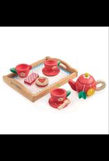 Tender Leaf Tea Tray Set