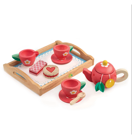 Tender Leaf Tea Tray Set