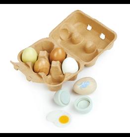 Tender Leaf Wood Eggs