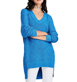 Free People Blue Sunday Sweater Dress