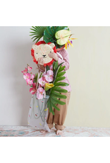 Meri Meri Lion Cross Body Straw Bag