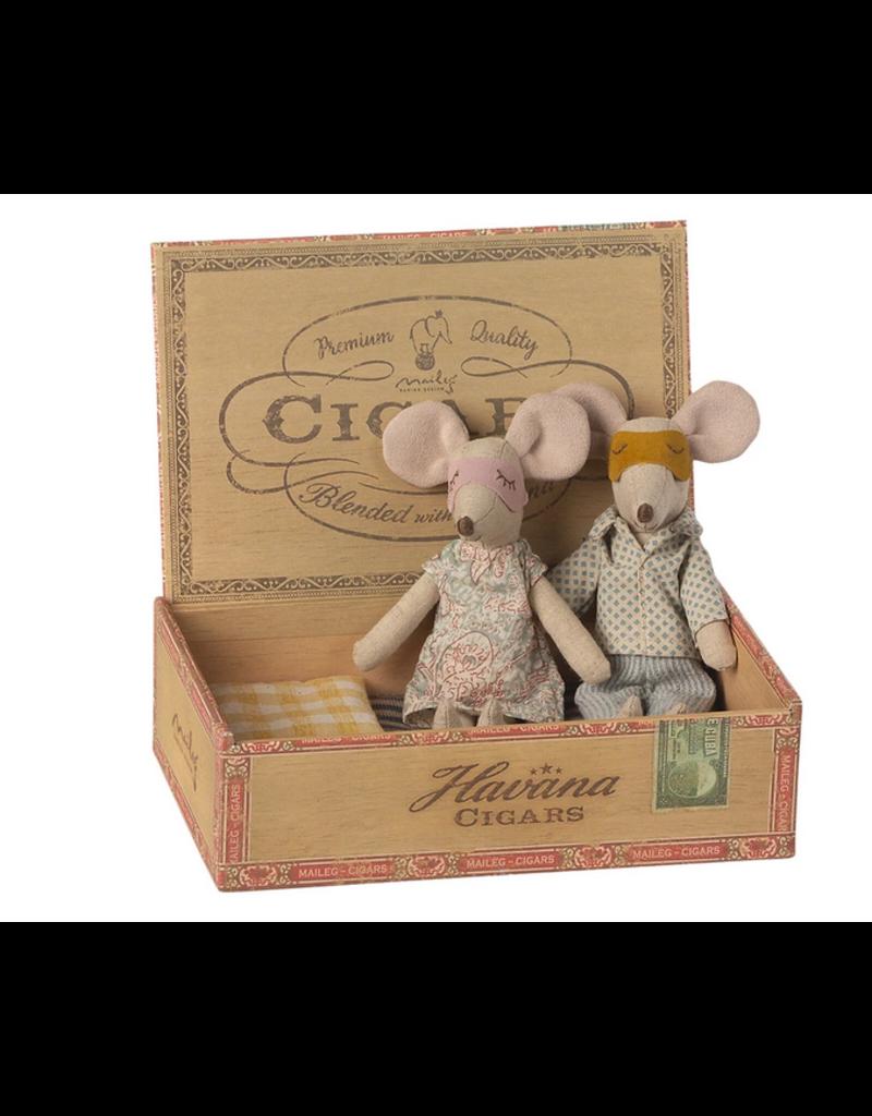 Mum and Dad In Cigar Box