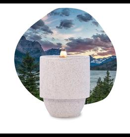 Paddywax National Parks Ceramic Candle GLACIER WHITE PINE & HEMLOCK