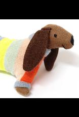 Meri Meri Sausage Dog Baby Rattle