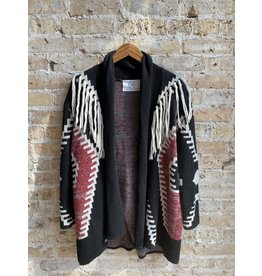 jennifer detrich smith Fringe Cardigan Size Medium