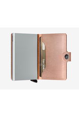 Secrid Secrid Miniwallet - Specialty Leather Metallic Rose