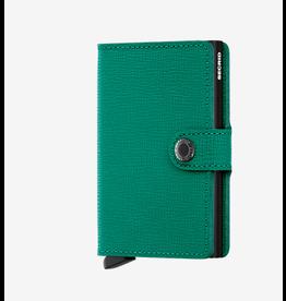 Secrid Secrid Miniwallet - Specialty Leather Crisple Emerald