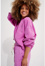 Back Beat Rags Recycled Cotton Puff Sleeve Sweatshirt