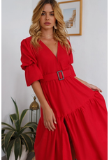 Bali Elf Peony Dress