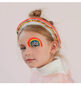 Meri Meri Rainbow Ruffle Headband