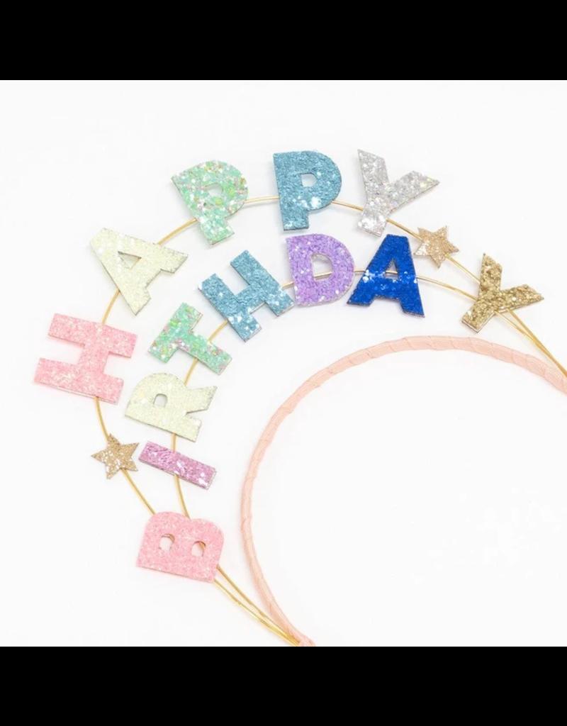Meri Meri Happy Birthday Glitter Headband