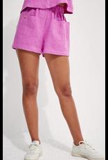 Back Beat Rags Cyber Linen Shorts