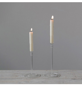 Creative Co-Op Glass Candle Taper