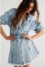 Free People Chain Of Command Dress