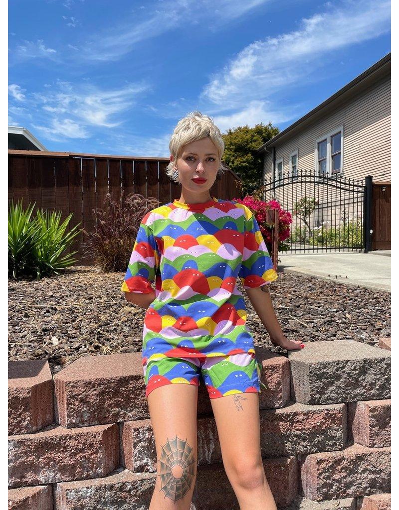 Nooworks Oversized Tee Rainbow Lumps