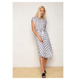 No Less Than Lorraine Stripe Dress