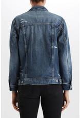 Adriano Goldschmied The Nancy Embroidered Denim Jacket