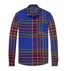 Scotch & Soda 'Let's Go Hiking' Flannel Shirt
