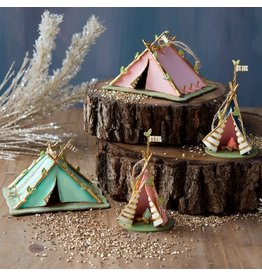One Hundred 80 Degrees Teepee Ornament