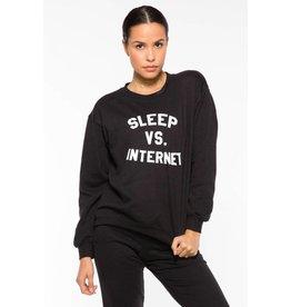 Sleep V. Internet Crew Sweatshirt