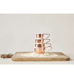 Creative Co-Op Copper Measuring Cups