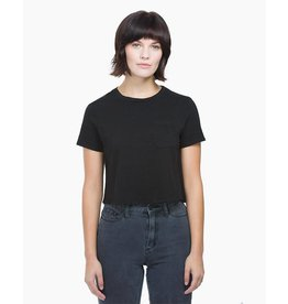 Richer Poorer Short Sleeve Boxy Crop Tee
