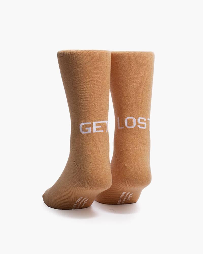 Richer Poorer Get Lost Mens Socks