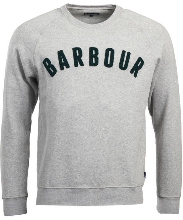 33bff9bc8 Barbour Crewneck Logo Sweatshirt - Birdseye Rule