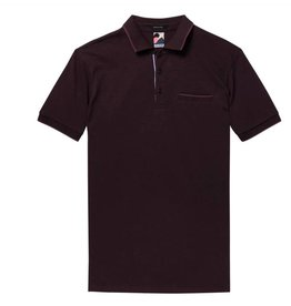 Scotch & Soda Chest Pocket Polo Deep Purple