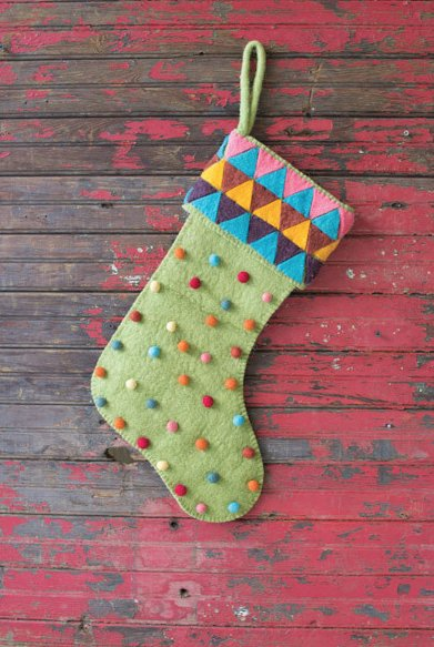 Kalalou Felt Stocking