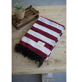 Kalalou Stripe Blanket/ Table Cloth