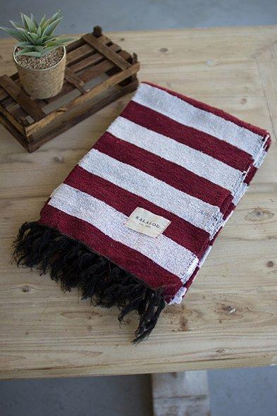 Kalalou Stripe Blanket/ Table Cloth