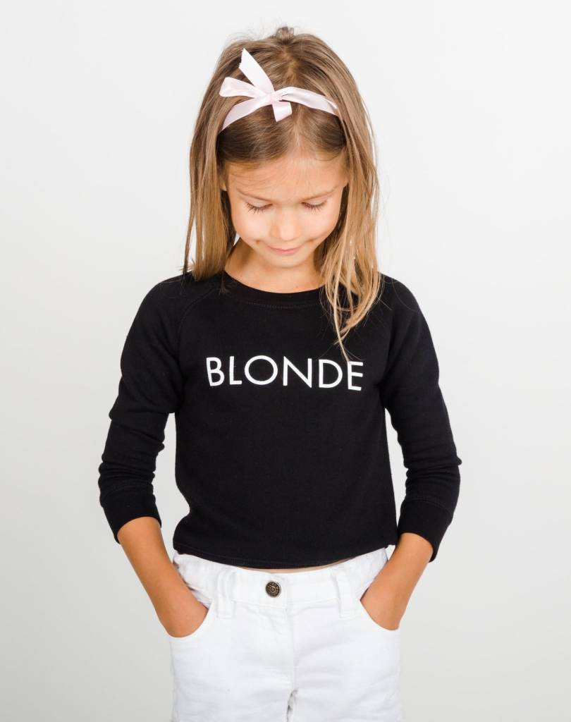Brunette Kid Blonde Crew