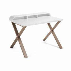 Tafels Merk Desk white oakwood