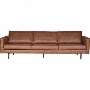 HKLiving Couch leather brown