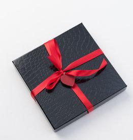Boîte-cadeau Noire Croco