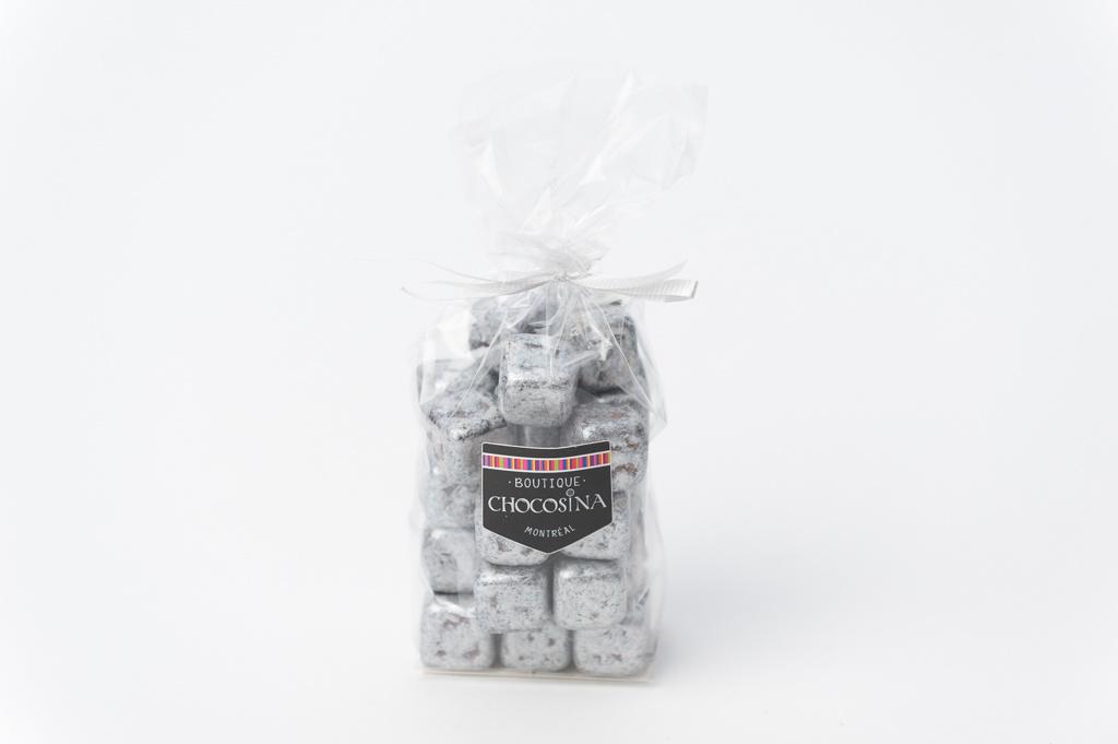 Cub'Cool Chocolat Noir Caramels - Argenté 200g
